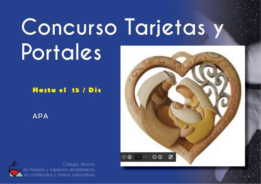 Concurso Tarjetas y Portales