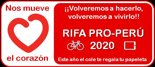 Rifa Pro-Perú 2020